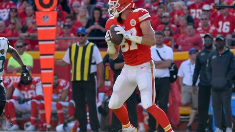Tight end: Travis Kelce, Kansas City Chiefs