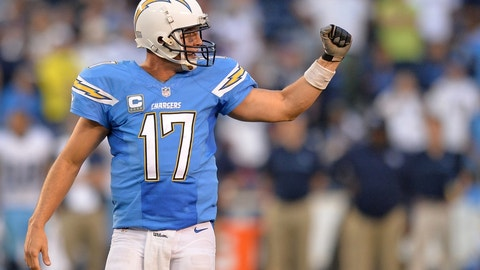 Saturday: Chargers at Browns