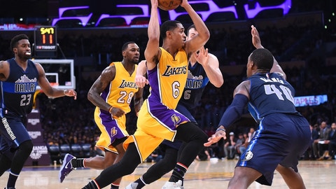 The Lakers shall refrain from trading for a superstar