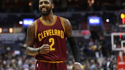 EAST -- Guard: Kyrie Irving, Cleveland Cavaliers