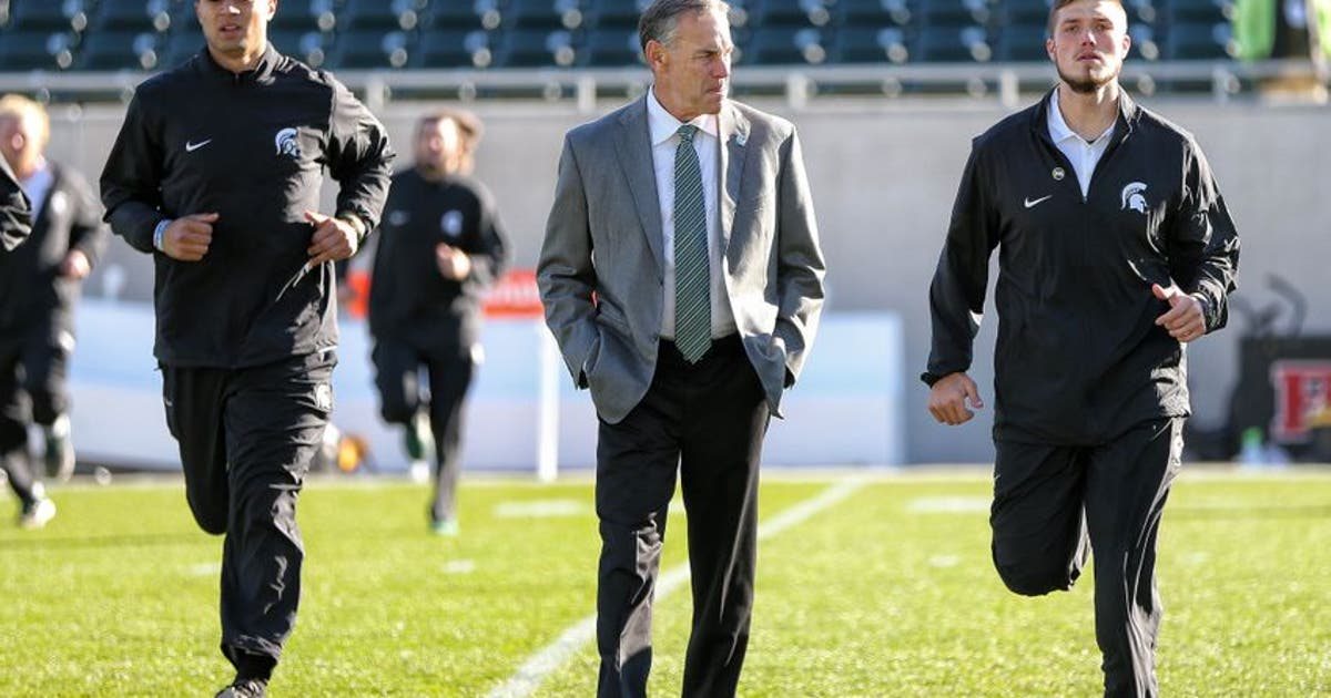 Michigan State Football: No staff changes coming, per Mark