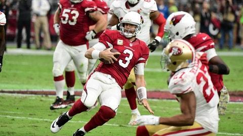 October 1: San Francisco 49ers at Arizona Cardinals, 4:05 p.m. ET