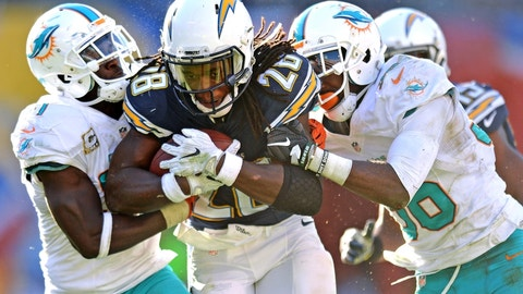 Melvin Gordon, RB, Los Angeles Chargers