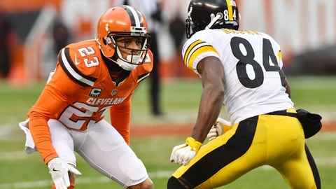 September 10: Pittsburgh Steelers at Cleveland Browns, 1 p.m. ET