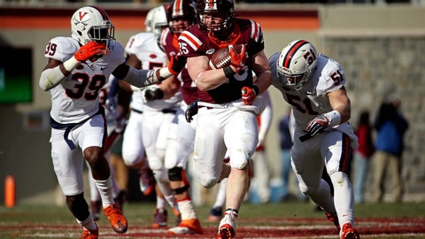 Sam Rogers, FB, Virginia Tech