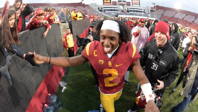 Adoree' Jackson, Zach Banner get plaques on All-American wall