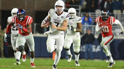 Mississippi State: Nick Fitzgerald was the best dual-threat QB no one talked about in college football last season