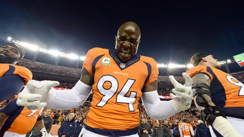 Troy: DeMarcus Ware (retired NFL star)