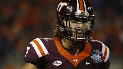Titans (from Rams, compensatory pick): Bucky Hodges, TE, Virginia Tech