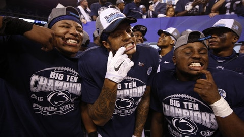 They've got the Big Ten championship as a blueprint