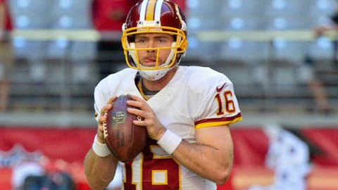Colt McCoy, Redskins