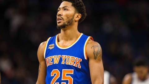 Derrick Rose, PG, New York Knicks: Unrestricted