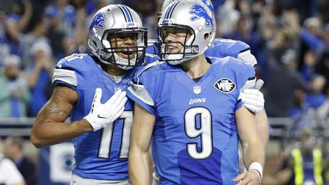NFC #4 seed: Detroit Lions (9-5)