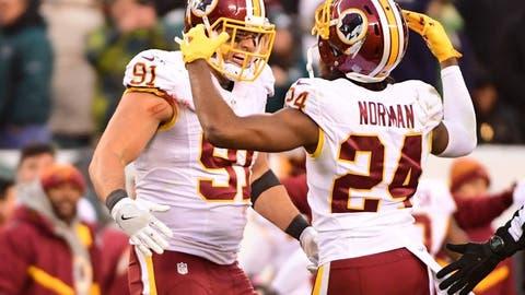NFC #8 seed: Washington Redskins (7-6-1)