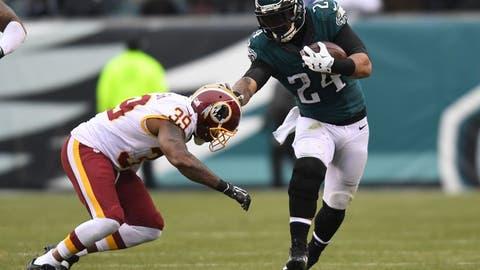 Philadelphia Eagles at Washington Redskins (Week 1, 1 p.m.)