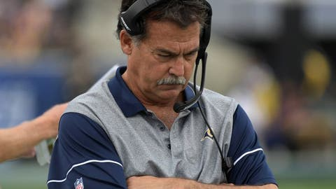 Los Angeles Rams -- Jeff Fisher, former head coach