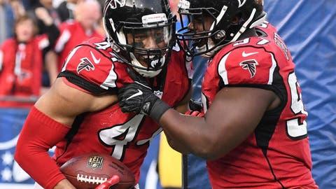 Atlanta Falcons (combined rankings score: 68)