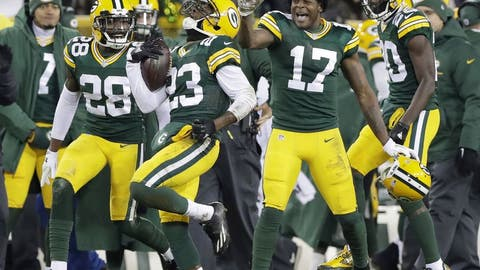 NFC #7 seed: Green Bay Packers (8-6)