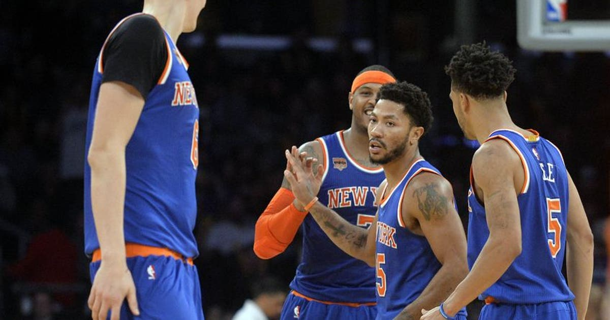 620f3a6872c New York Knicks  Derrick Rose Plans To Play Against Indiana Pacers ...