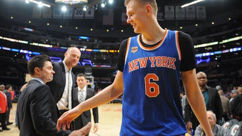 Kristaps Porzingis, C, Knicks