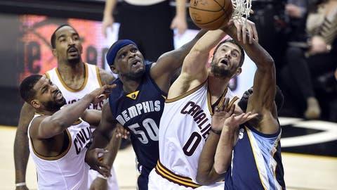 Rebounding: Cavaliers