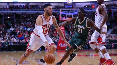 Denzel Valentine, Detroit Pistons