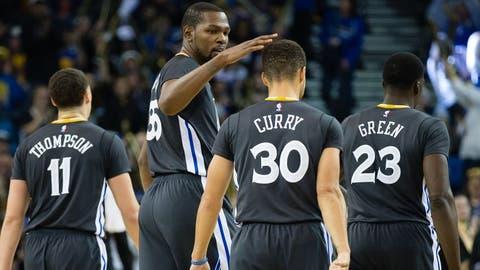 Starting lineup: Warriors