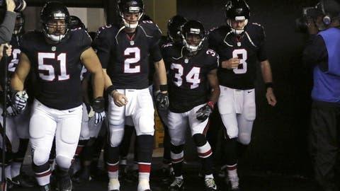 2. Atlanta Falcons (11-5)