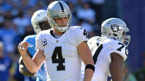 2. Oakland Raiders (13-3)