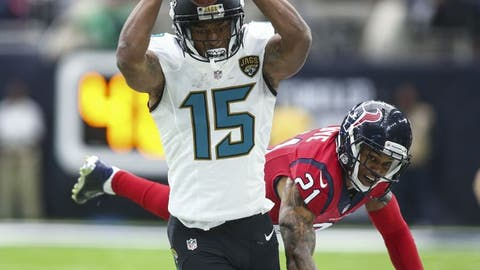 September 10: Jacksonville Jaguars at Houston Texans, 1 p.m. ET