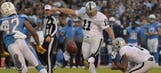 Game Ball: Oakland Raiders at San Diego Chargers