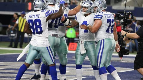 NFC: 1. Dallas Cowboys (14-2)