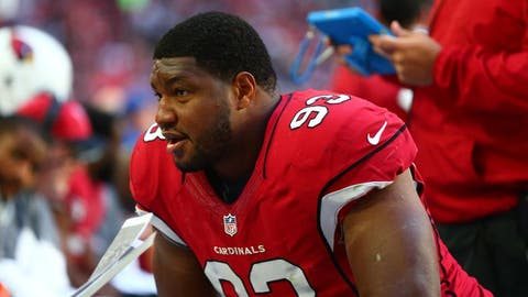 DL Calais Campbell to the Jaguars: B