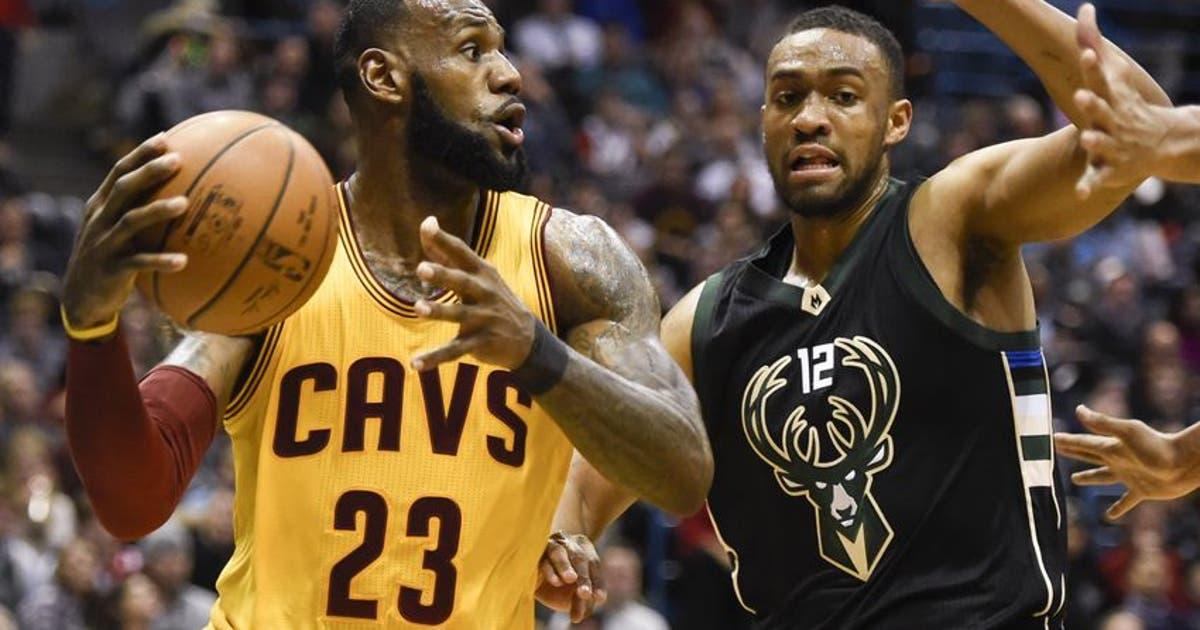 Milwaukee Bucks Daily: Cavs Best Bucks in Overtime ... Jabari Parker Lebron James