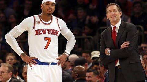 Jeff Hornacek, New York Knicks