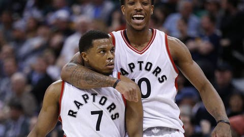 The Raptors rely on isolation and free throws, which is a doomed strategy