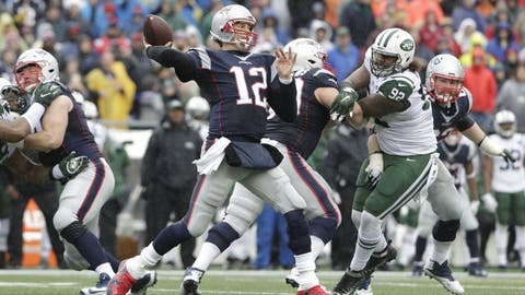 December 31: New York Jets at New England Patriots, 1 p.m. ET