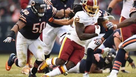Washington Redskins (last week: 15)