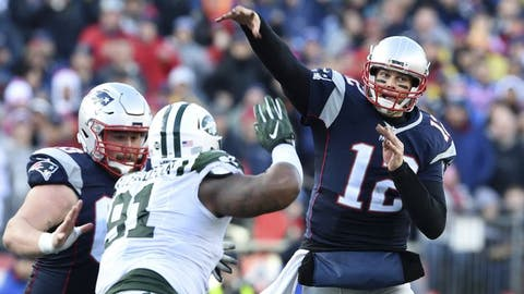 December 31: New York Jets at New England Patriots, 1 p.m. ET
