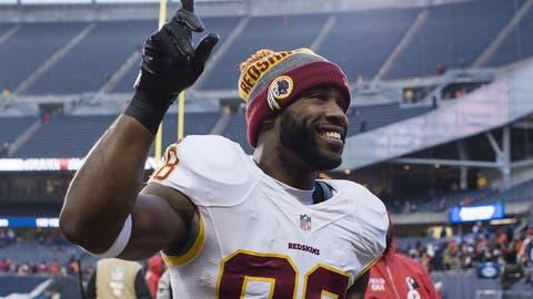 Sunday: Giants at Redskins