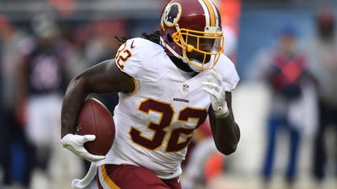 Robert Kelley, RB, Redskins