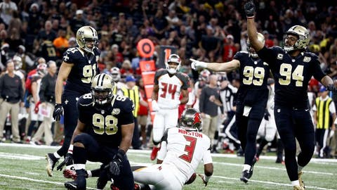 November 5: Tampa Bay Buccaneers at New Orleans Saints, 1 p.m. ET