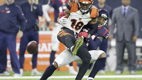 September 14: Houston Texans at Cincinnati Bengals, 8:25 p.m. ET