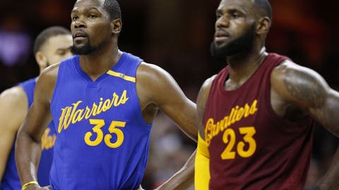NBA fans shall resolve to never trust the Golden State Warriors to hold a lead against the Cleveland Cavaliers...