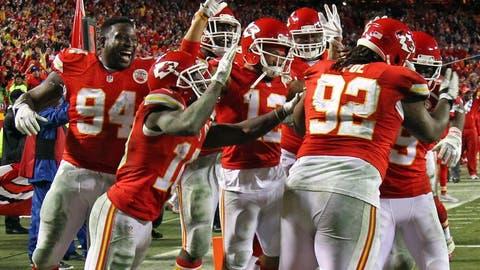 5. Kansas City Chiefs (12-4)
