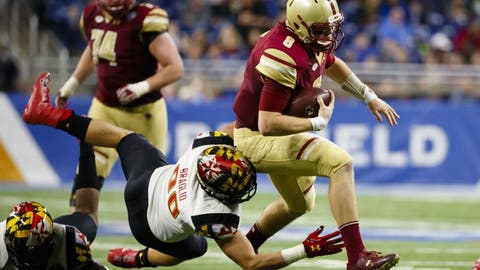 Quick Lane Bowl: Boston College 36, Maryland 30