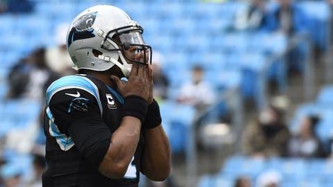 Cam Newton, QB, Panthers (shoulder): Active