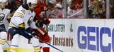 Sabred: Red Wings Drop 4-3 Contest to Buffalo