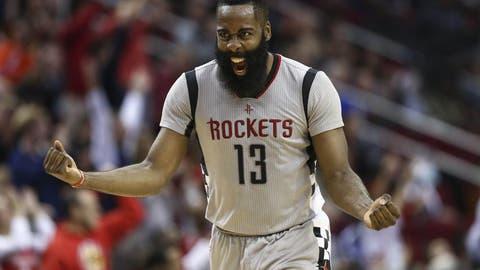 James Harden, PG, Houston Rockets