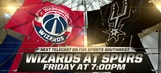 Spurs Live: Wizards coming into town to face Spurs